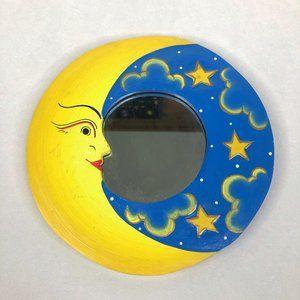 Vintage Celestial Moon Mirror